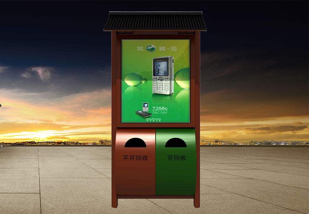 广告垃圾箱-24