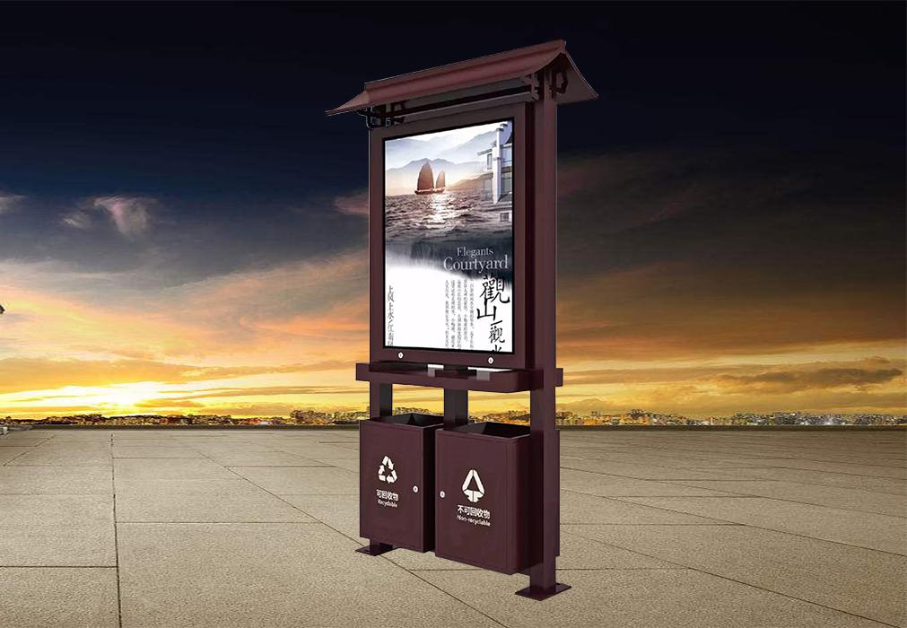 广告垃圾箱-25